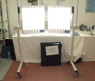 同じく2010年に発表で医療機関向けの病床用スタンドセット